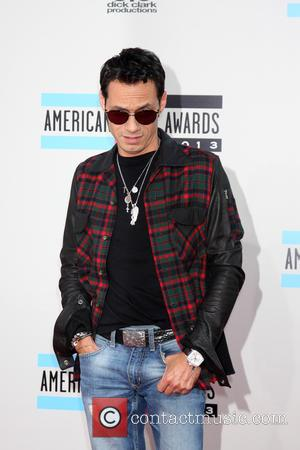 Marc Anthony - American Music Awards 2013 Arrivals at the Nokia Theater in Los Angeles at Nokia Theater at LA...