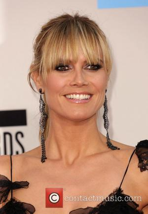 Heidi Klum - 2013 American Music Awards - Arrivals