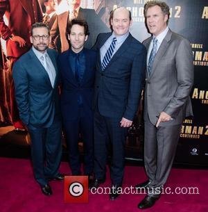 Will Ferrell, Steve Carell, Paul Rudd and David Koechner