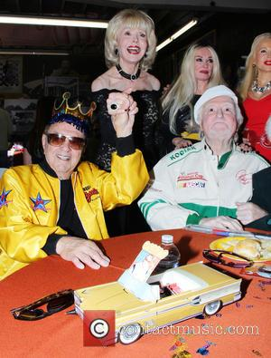 George Barris, Marty Ingles, Francine York and Mamie Van Doren