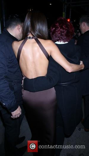 Nicole Scherzinger and Sharon Osbourne