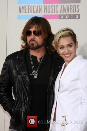 Billy Ray Cyrus and Miley Cyrus