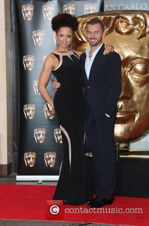 Natalie Gumede and Artem Chigvintsev - The British Academy Children's Awards held at the London Hilton, Park Lane - Arrivals...