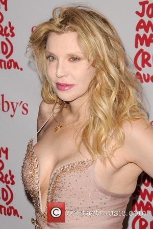 Courtney Love - Jony And Marc's (RED) Auction - Arrivals