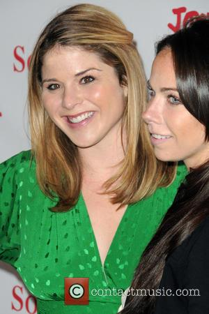 Jenna Bush Hager and Barbara Bush - Jony And Marc's (RED) Auction - Red Carpet Arrivals at Sotheby's - Manhattan,...