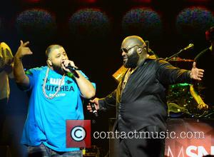 DJ Khaled and Rick Ross - Rick Ross performing in concert at the James L. Knight International Center - Miami,...