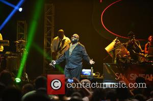 Rick Ross - Rick Ross performing in concert at the James L. Knight International Center - Miami, Florida, United States...