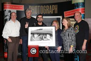 Bob Toth, Gary Van Deursen, Ringo Starr, Suzanne Rayot, Arlene Norbe and Charlie Schwartz