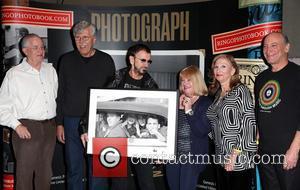 Ringo Starr, Gary Van Deursen, Bob Toth, Suzanne Rayot, Arlene Norbe and Charlie Schwartz