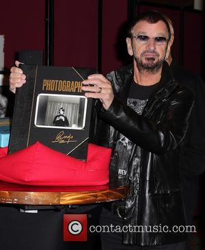 Ringo Starr - Ringo Starr Book & Print Exhibit at The Palms Casino Resort In Conjunction With Ringo and His...