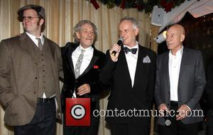 Shuler Hensley, Ian Mckellen, Sean Mathias and Patrick Stewart