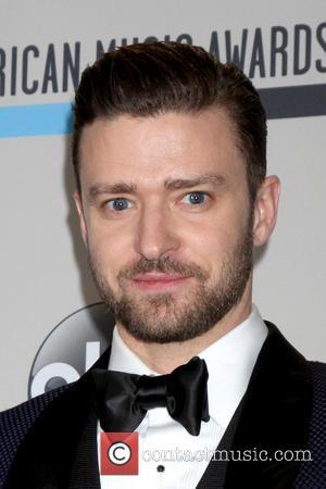 Justin Timberlake - 2013 American Music Awards held at Nokia Theatre - Press Room at Nokia Theater at LA Live,...
