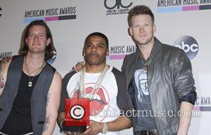 Brian Kelly, Tyler Hubbard and Nelly