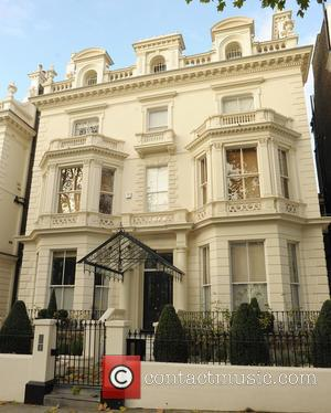 View, David and Victoria Beckham House - David and Victoria Beckham's £40million London mansion. - London, United Kingdom - Monday...