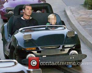 Kingston Rossdale and Gavin Rossdale