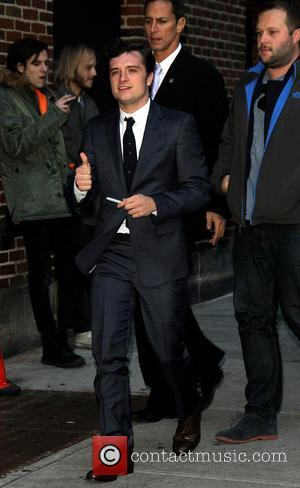 Josh Hutcherson - Celebrities outside the Ed Sullivan Theater for the Late Show with David Letterman - New York, New...