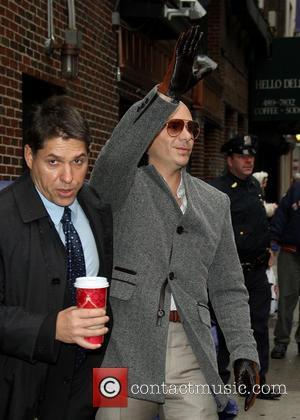 David Letterman and Armando Christian Perez 'pitbull'