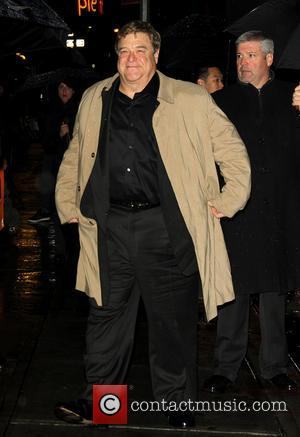 John Goodman - Celebrities outside The Ed Sullivan Theater for the Late Show with David Letterman - New York City,...