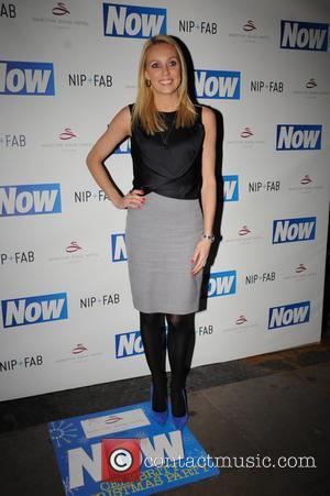 Camilla Dallerup - Now Magazine Christmas Party at Soho Sanctum Hotel - Arrivals - London, United Kingdom - Tuesday 26th...