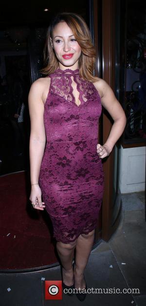 Amelle Berrabah - Now Magazine Christmas Party held at Soho Sanctum Hotel - Arrivals - London, United Kingdom - Tuesday...