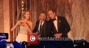 Taylor Swift, Jon Bon Jovi, Prince William and Duke Of Cambridge