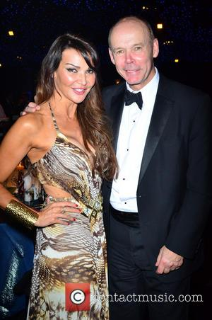 Lizzie Cundy and Clive Woodward