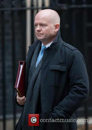 William Hague - Ministers and politicians leave 10 Downing Street after a Cabinet meeting. - London, United Kingdom - Tuesday...