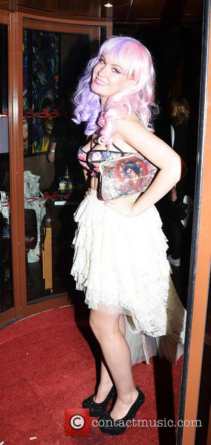 Kitty Brucknell - Now Magazine Christmas Party at Soho Sanctum Hotel - Arrivals - London, United Kingdom - Tuesday 26th...