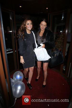 Jacqueline Jossa - Now Magazine Christmas Party at Soho Sanctum Hotel - Departures - London, United Kingdom - Tuesday 26th...
