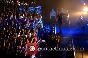 Jim Kerr - Simple Minds performing in concert at the Hydro at the SECC - Glasgow, United Kingdom - Wednesday...