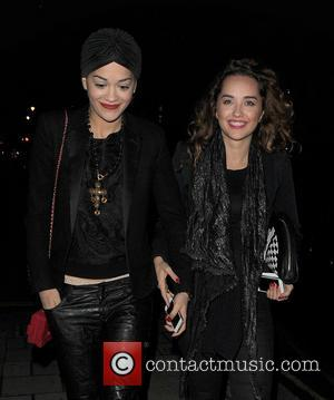 Rita Ora and Elena Ora - Rita Ora steps out with sister Elena in Mayfair, for a late birthday dinner...