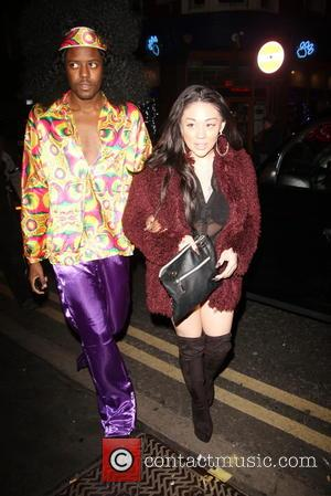 Vas J Morgan and Mutya Buena - Rita Ora celebrates her birthday at The Box nightclub in disco theme fancy...
