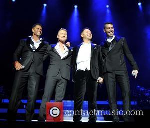 Keith Duffy, Ronan Keating, Mikey Graham and Shane Lynch