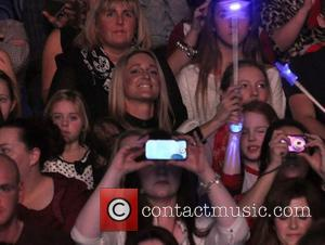 Storm Uechtritz and Ali Keating - Boyzone performing in concert at the O2 Dublin where they kicked off their BZ20...