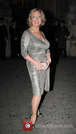 Deborah Meaden - Celebrities enjoying a nightout in London - London, United Kingdom - Thursday 28th November 2013