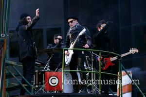 Fall Out Boy - 87th Annual Macy's Thanksgiving Day Parade - Manhattan, New York, United States - Thursday 28th November...