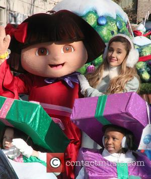 Ariana Grande and Dora - 87th Macy's Thanksgiving Day Parade in New York City - NYC, New York, United States...