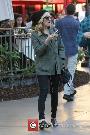 Brittany Snow - Brittany Snow out shopping at The Grove with a male companion - Los Angles, California, United States...