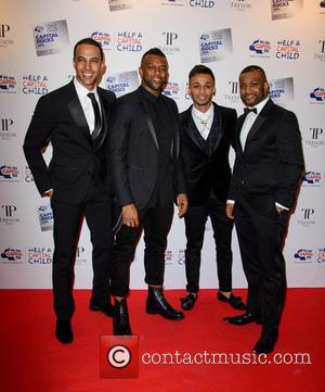JLS - Capital Rocks 2013 Fundraiser at the Roundhouse - Arrivals - London, United Kingdom - Thursday 28th November 2013