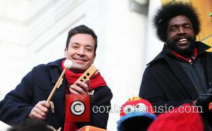 Jimmy Fallon and Questlove - The 2013 Macy's Thanksgiving Day Parade in New York City - New York City, New...