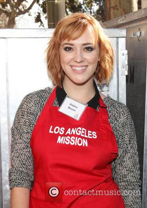 Andrea Bowen - LA Mission's Annual Thanksgiving For The Homeless - Los Angeles, California, United States - Thursday 28th November...