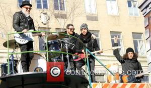 Fall Out Boy - Celebrities come out to celebrate the 2013 Macy's Thanksgiving Day Parade. - New York City, New...