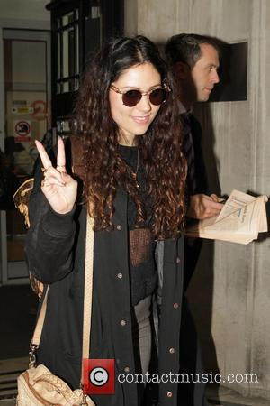 Eliza Doolittle - Celebrities seen at the BBC Radio 2 studios. - London, United Kingdom - Friday 29th November 2013