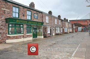 The new set of Coronation Street is revealed, moving from Quay Street to the new home of Media City. -...