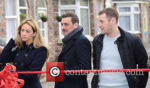 Samia Ghadie Chris Gascoyne Marc Baylis - The new set of Coronation Street is revealed, moving from Quay Street to the...