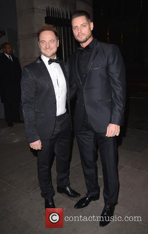 Mikey Graham and Keith Duffy