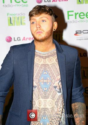 James Arthur - Free Radio Live 2013 held at Birmingham LG Arena - Backstage - Birmingham, United Kingdom - Saturday...