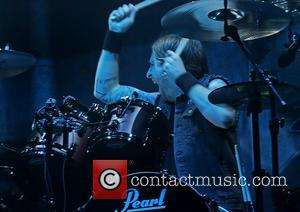 Michael Thomas - Bullet For My Valentine perfoming at the Manchester Phones4U Arena - Manchester, United Kingdom - Sunday 1st...