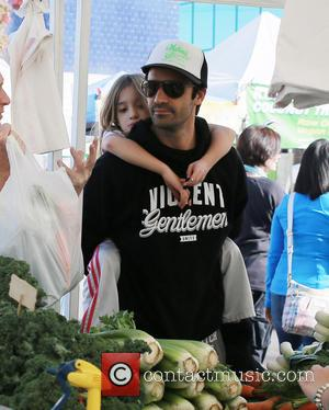Gilles Marini and Julianna Marini - Son's of Anarchy actor Donal Logue and Gilles Marini enjoy the Farmers Market with...