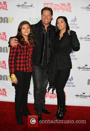 Simone Andrea Kanan, Sean Kanan and Michele Vega - The 82nd Annual Hollywood Christmas Parade on Hollywood Blvd - Arrivals...